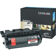 Lexmark™ Black Toner Cartridge, X644H21A, High Yield