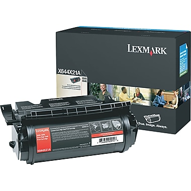 Lexmark X644 Black Toner Cartridge (X644X21A), Extra High Yield