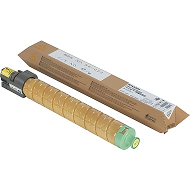 Ricoh Yellow Toner Cartridge (820008), High Yield