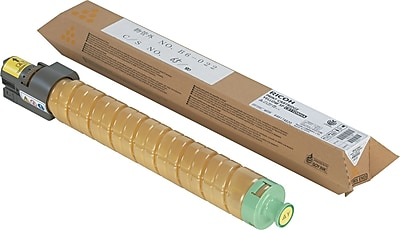 Ricoh Yellow Toner Cartridge (820008), High Yield