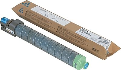 Ricoh Cyan Toner Cartridge (820024), High Yield