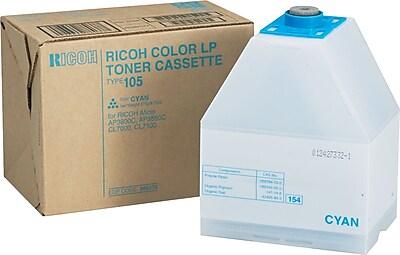 Ricoh® 885375 High-Yield Toner, 10000 Page-Yield, Cyan