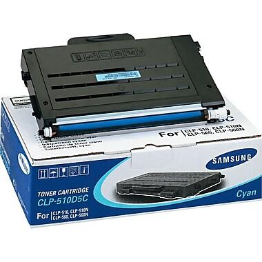 Samsung Cyan Toner Cartridge (CLP-510D5C/SEE), High Yield