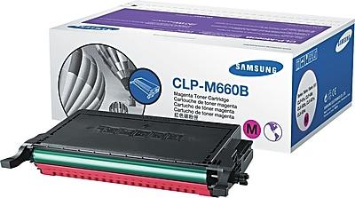 Samsung Magenta Toner Cartridge (CLP-M660B), High Yield