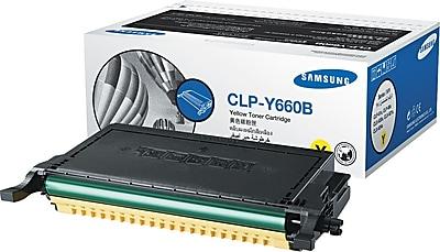 Samsung Yellow Toner Cartridge (CLP-Y660B), High Yield