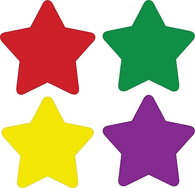 Carson-Dellosa Stars, Multicolor Chart Seals, 810 Self-Adhesive Seals Per Pack
