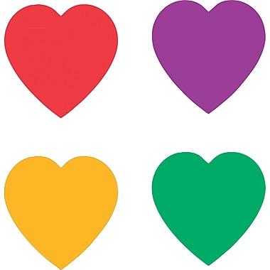 Carson-Dellosa Hearts, Multicolor Chart Seals