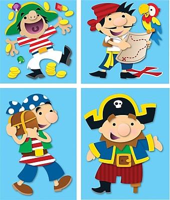 Carson-Dellosa Pirates Prize Pack Stickers