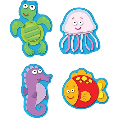 Carson-Dellosa Sea Life Shape Stickers, 96 stickers per pack