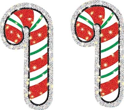 Carson-Dellosa Candy Canes Dazzle™ Stickers