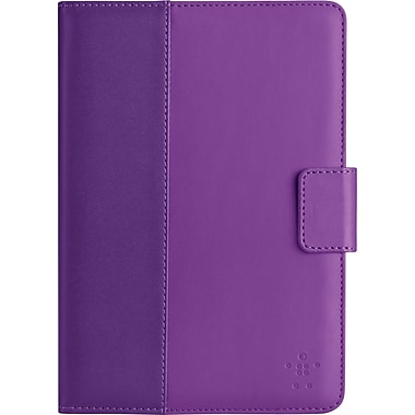 Belkin Classic Tab Cover with Stand for iPad Mini, Purple