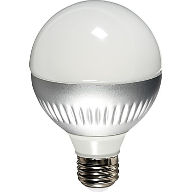 Verbatim Globe (G25) LED Lightbulb, Soft White, Dimmable