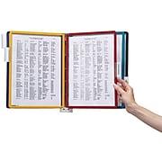 "Durable Vario Series Document Holders, 8.5"" x 11"", Assorted Colors Plastic (5552-00)"