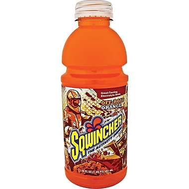 Sqwincher Ready to Drink Bottle, 20 oz, Orange, 24/Case