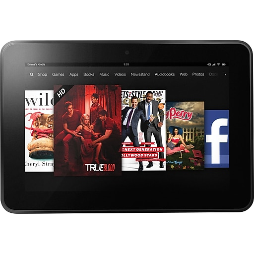 Kindle Fire HD 8 9-Inch 16GB Tablet with 1 5 GHz Dual-Core Processor
