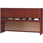 Bush Business Westfield 72W 4 Door Hutch, Hansen Cherry