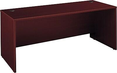 Bush Business Westfield 72W x 30D Desk Shell, Cherry Mahogany