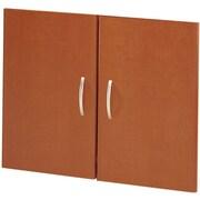 Bush Business Furniture Westfield Half-Height 2 Door Kit, Auburn Maple (WC48511)