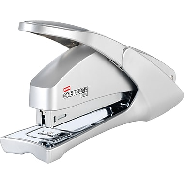 Staples® One-Touch™ Aero Full Strip Stapler, 20 Sheet Capacity, Silver