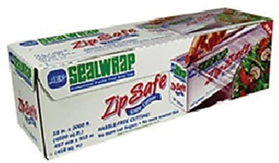 AEP® ZipSafe SealWrap 18'' Food Wrap Film With Slide Cutters
