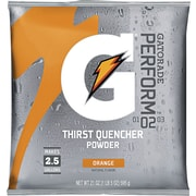 Gatorade® 2 1/2 gal Yield Instant Powder Dry Mix Energy Drink, 21 oz Pack, Orange