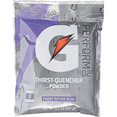 Gatorade® 1 gal Yield Instant Powder Dry Mix Energy Drink, 8.5 oz Pack, Riptide Rush