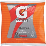 Gatorade® 2 1/2 gal Yield Instant Powder Dry Mix Energy Drink, 21 oz Pack, Fruit Punch