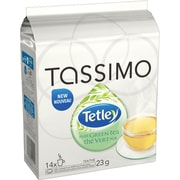 Tassimo Tetley Pure Green Tea TDiscs, 14/Pack