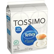 Tassimo Tetley Orange Pekoe Tea TDiscs, 14/Pack