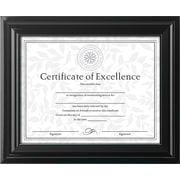 DAX® High Gloss Frame, Plastic, 8 1/2 x 11, Black, Each (N3145N2T)