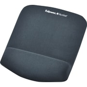 Fellowes PlushTouch Mouse Pad/Wrist Rest with FoamFushion Technology, Graphite
