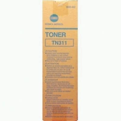 Konica Minolta Black Toner Cartridge (8938-402), High Yield