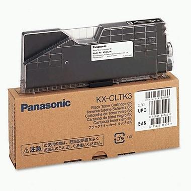 Panasonic Black Toner Cartridge (KX-CLTK3), High Yield