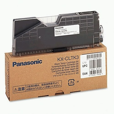 Panasonic Black Toner Cartridge (KX-CLTK3), High Yield