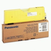 Panasonic Yellow Toner Cartridge (KX-CLTY3), High Yield