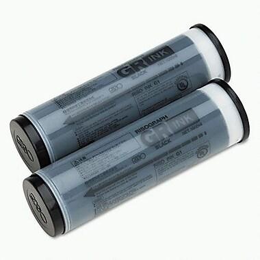Risograph Black Ink Cartridge (S-539), High Yield 2/Pack