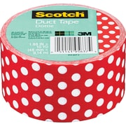 "Scotch® Brand Duct Tape, Dottie, 1.88""x 10 Yards"