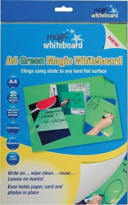 Magic Whiteboard Magic Whiteboard Sheets, Green