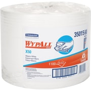"""Kimberyl-Clark Wipers, Economical Extended Use, White, Jumbo Roll, 9 4/5"""" x 13 2/5"""", 1100/Roll/Ct"""