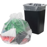 Brighton Professional, Trash Bags, 30-33 Gallon, 33x39, Low Density, 0.9 Mil, Clear, 150 CT