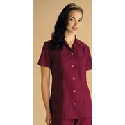 Medline Ladies Two-pockets A-line Tunics, White, Medium