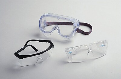 Medline Fluid Protective Goggles, Small Size, 36/Pack