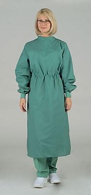 Medline Unisex XL Tunnel Belt Surgeons Gown, Jade Green (606MJSXL)