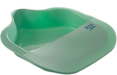 Alimed Bariatric Fracture Bedpans, Mint Green, 15