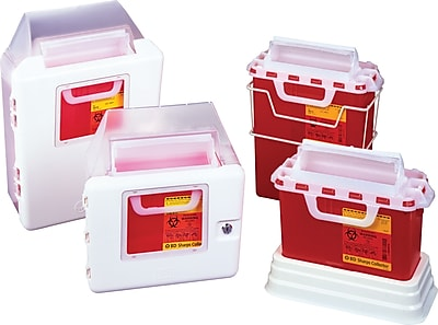 Sharps Containers & Wall Brackets