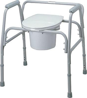 Medline Bariatric Commode Seat and Lids, Bariatric