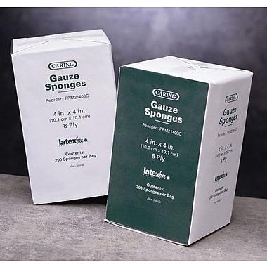 Caring® Woven Non-sterile Gauze Sponges