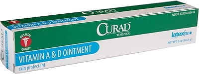 Curad® A&D Ointments, 2 oz, 12/Pack