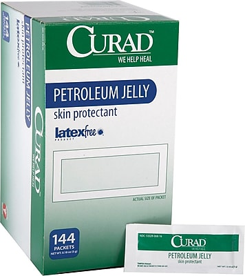 Curad® Petroleum Jelly, 1/6 oz, 864/Pack