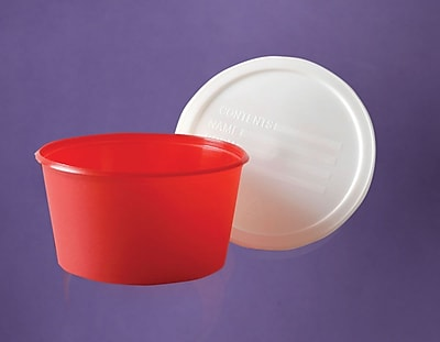 Medline Stool Specimen Containers, 8 oz Size, 250/Pack